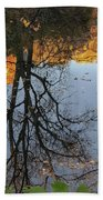 River Trees Hand Towel