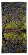 River Walk Reflections Bath Towel