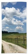 Road From The Farm Hand Towel