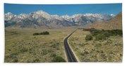 Road To Sierra  Bath Towel
