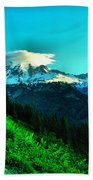 Road To The Mountain  Bath Towel