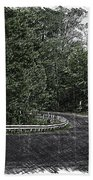 Roadway Fingers Lakes New York Area Pa 02 Bath Towel