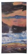 Roaring Seas Bath Towel