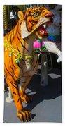Roaring Tiger Ride Bath Towel