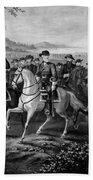 Robert E. Lee And His Generals Bath Towel