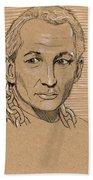 Robert Englund Bath Towel