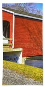 Roberts Covered Bridge Bath Towel