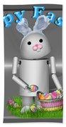 Robo-x9 The Easter Bunny Bath Towel