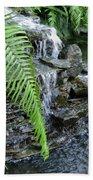 Rock Fountain II Bath Towel