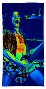 Rock 'n' Roll The Cosmic Blues Bath Towel