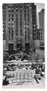 Rockefeller Center Plaza Bath Towel