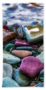 Rocks Bath Towel