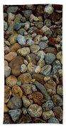Rocks From Beaches Bath Towel