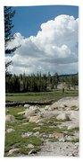 Rocks Of Tuolumne Meadows Bath Towel