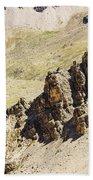 Rocky Landscape - 3 - French Alps Bath Towel