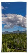 Rocky Mountain Overlook Bath Towel