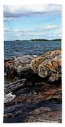 Rocky Point - Wreck Island Bath Towel