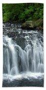 Rolley Lake Falls Dry Brushed Bath Towel