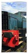 Rolls Royce Sentinel Dl83 Diesel Shunter At The Nene Valley Railway Bath Towel