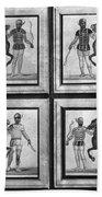 Roman Mosaic: Charioteers Bath Towel