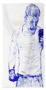 Roman Selfie Bath Towel