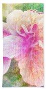 Romance Of Flowers Bath Towel by Barbara Berney