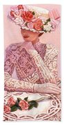 Romantic Lady Hand Towel