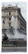 Rome Italy Fountain  Bath Towel