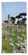 Rome Ruins Bath Towel