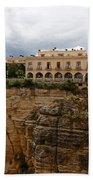 Ronda Spain- The Puente Nuevo Bath Towel