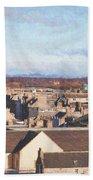 Rooftops Of Elgin Bath Towel