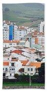 Rooftops Of Ponta Delgada Bath Towel