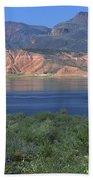 Roosevelt Lake - Panoramic Bath Towel
