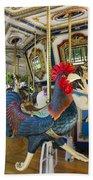 Rooster Coop Kids Ride Bath Towel