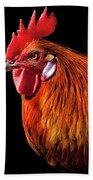 Rooster Pride Bath Towel
