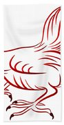 Rooster - Sign Of Chinese New Year Bath Towel