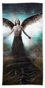 Rooted Angel Bath Towel