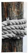 Rope Fence Fragment Bath Towel