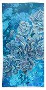 Rosa Stellarum Bath Towel