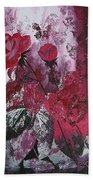 Rose Burst Bath Towel