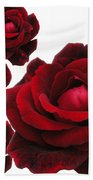 Rose Collage Bath Towel
