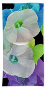 Rose Of Sharon Painted Bath Towel