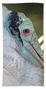 Roseate Spoonbill Profile Bath Towel
