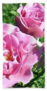 Roses 6 Bath Towel