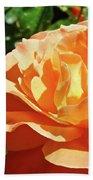 Roses Art Prints Orange Rose Flower 11 Giclee Prints Baslee Troutman Bath Towel