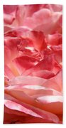 Roses Cinnamon Pink Rose Flowers 3 Rose Garden Art Baslee Troutman Bath Towel