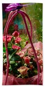 Roses Gift Bag Bath Towel