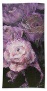 Roses In Mauve Bath Sheet