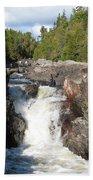 Rosetone Falls Bath Towel