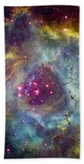 Rosette Nebula Ngc 2244 In Monoceros Bath Towel